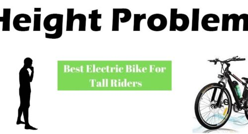 Electric Bikes For Tall Riders